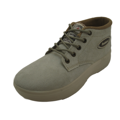 کفش مردانه چرم  نیم بوت کوهستان خاکی ارسال رایگان