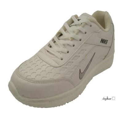 کفش مردانه اسپورت سفید طرح NIKE ارسال رایگان